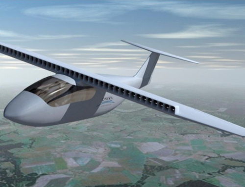 Distributed electrical propulsion aircraft Ampere project